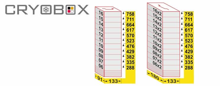 MTP Truhengestell Box 45 mm hoch
