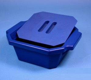 Thorbi Isolierbehälter / Mit Deckel, Inhalt 2,5 Liter blau