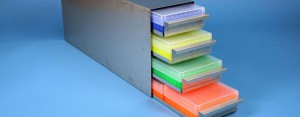 Eppi drawers racks 140 mm width closed