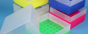 Cryo boxes plastic