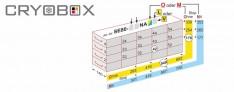 Tiroir cryo racks boite jusqu'à 80 mm h.