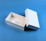 LIMA 50 Kryobox (Karton spezial) ohne Facheinteilung, weiss, Höhe 50 mm
