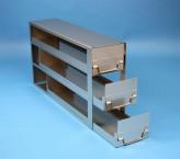 ALPHA Schrankeinschub 110, für 12 Kryoboxen bis 136x136x113 mm