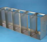 ALPHA horizontal rack, without intermediate shelf