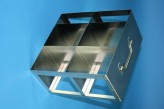 CellBox Maxi  cryo cabinet rack 2x2 compartments for 4 Cryo boxes up to 148x148x128 mm folding handle, open frame