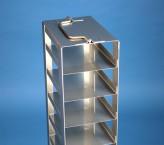 Mikrotiter Truhengestell, für 6 MT-Platten bis 86x128x45 mm