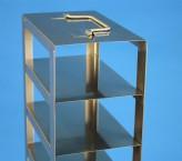 Mikrotiter Truhengestell, für 10 MT-Platten bis 86x128x53 mm