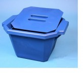 Thorbi insulated container / With lid, content 4,5 litres blue